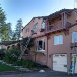 Southwest style exterior painting in San Mateo, CA, by Walls N Beyond Painting Company