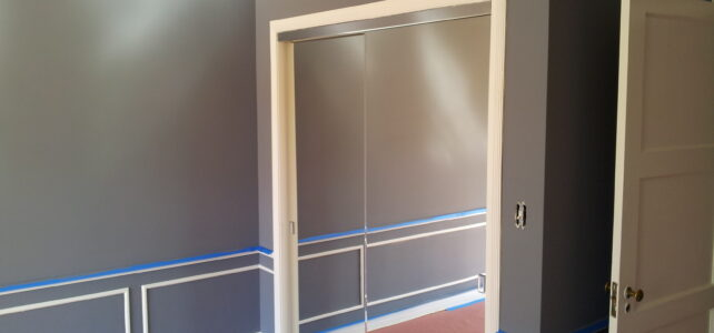 Interior painting on Sacramento St in San Francisco, CA