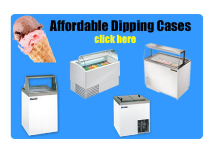 Affordable Ice Cream Dipping Cases Button Click Here