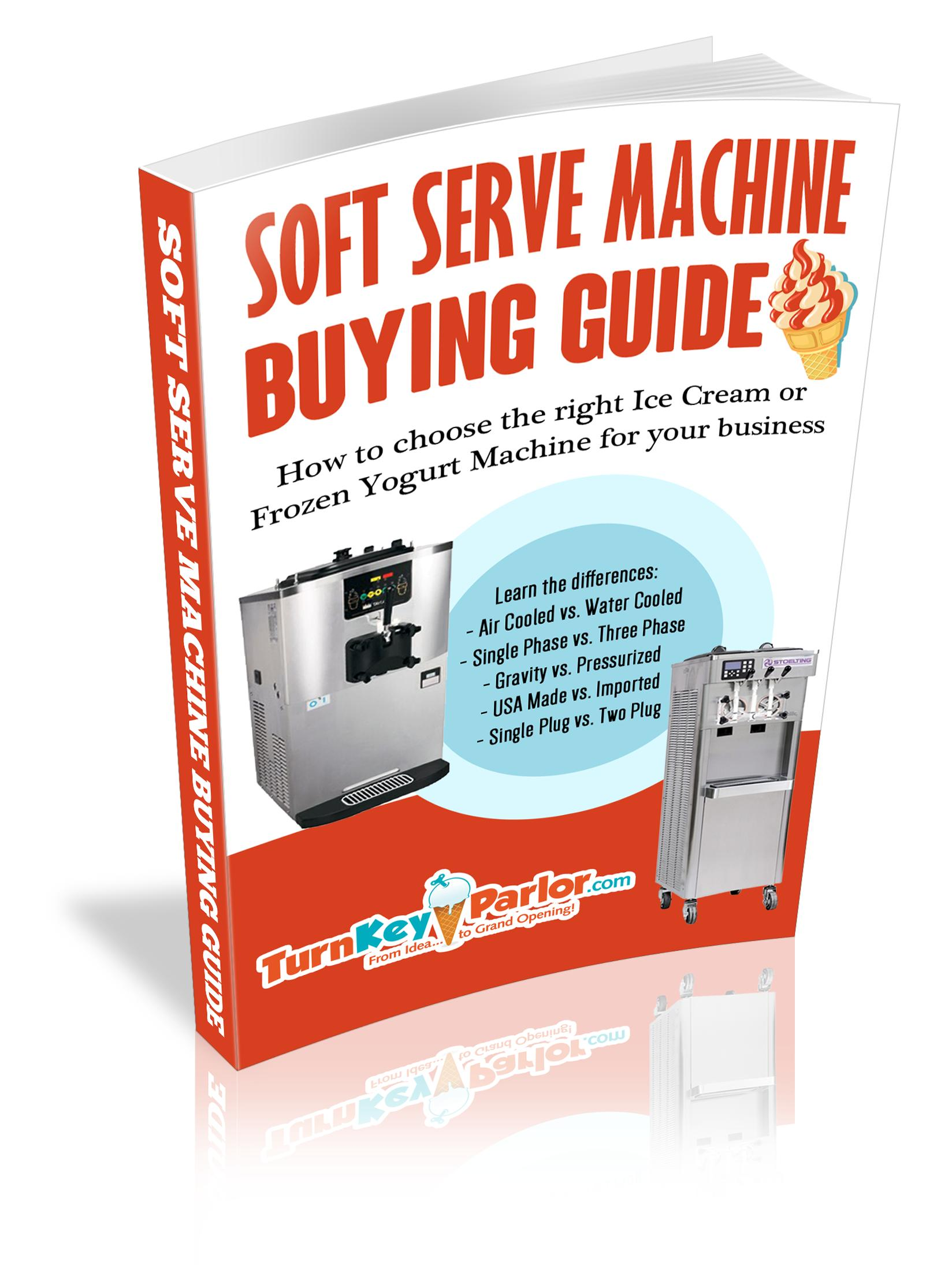 Ice Cream Machine Book