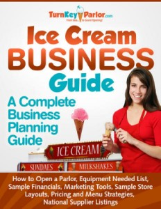 ice cream store business book