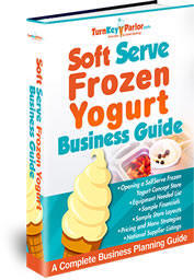 Self Serve Soft Serve Frozen Yogurt Shop