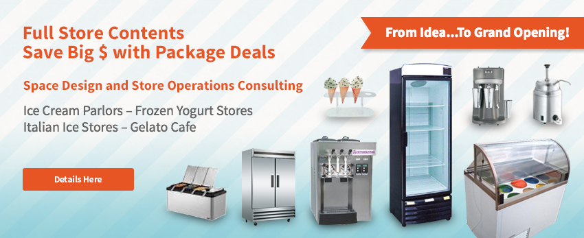 ice cream store package deals
