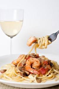pasta and shrimp pic