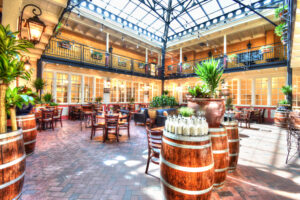 Herve Wine Bar in Santa Fe New Mexico near the historic Plaza, by Lescombes Family Vineyards