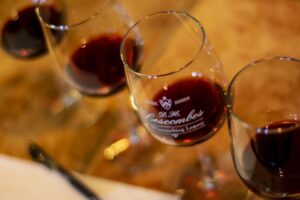 wine tasting at D.H. Lescombes Winery & Tasting Room in Deming