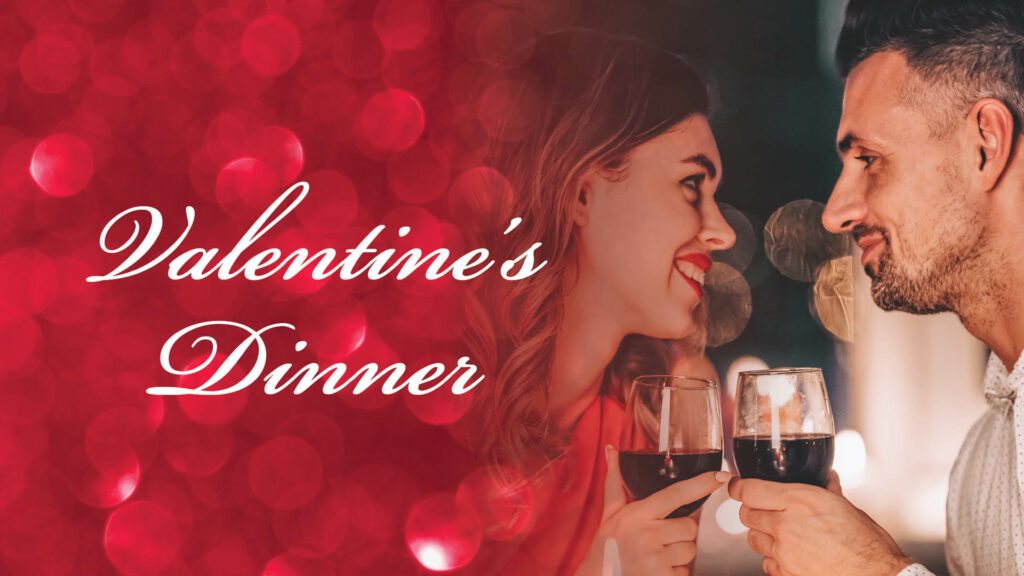 romantic valentine's day dinner at D.H. Lescombes Winery and Bistro
