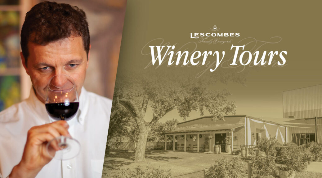 lescombes winery tours in deming new mexico every sunday between 1 - 3 pm