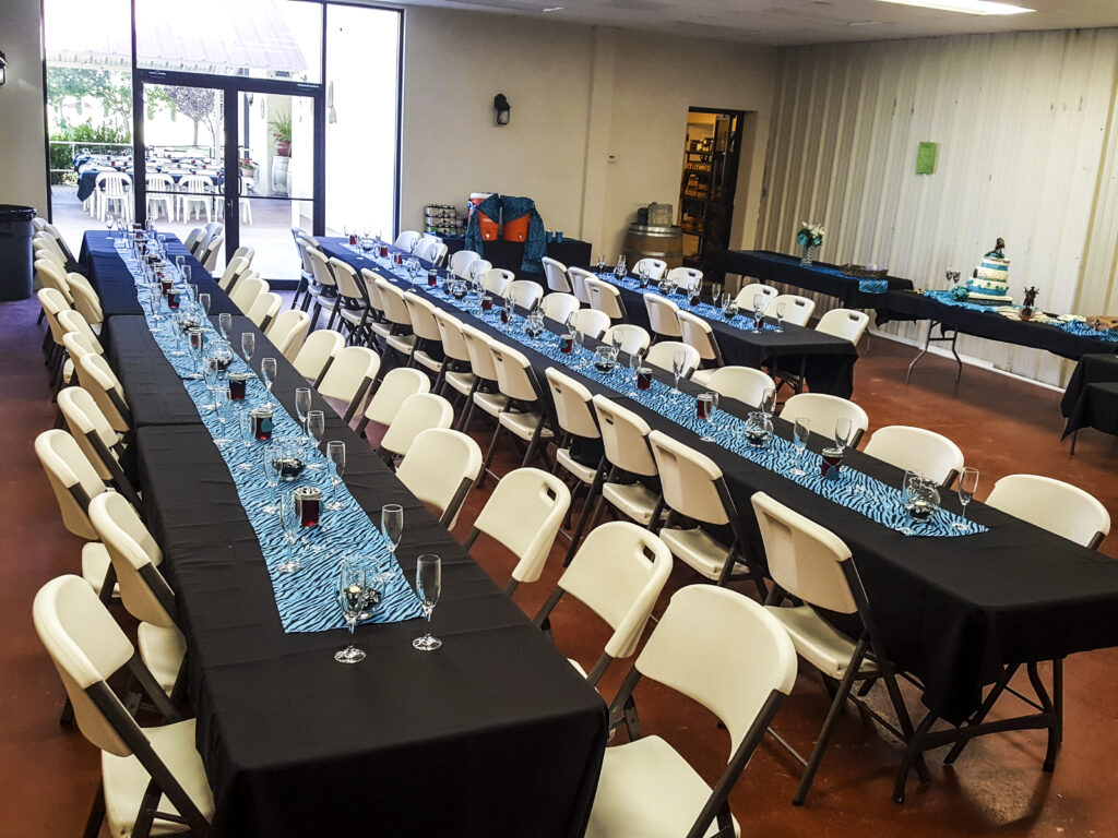 special event and wedding space in deming d.h. lescombes winery and tasting room