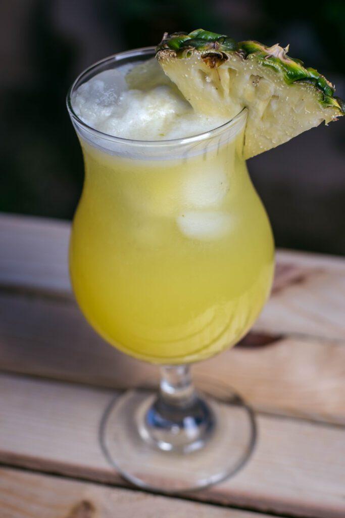 Try a Piña Bianca at D.H. Lescombes