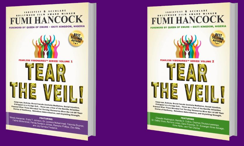 Tear The Veil Books volumes 1 and 2. Order your copy of volume 2 today