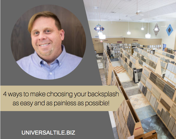 4 Ways To Make Choosing Your Backsplash As Easy And As Painless As Possible!
