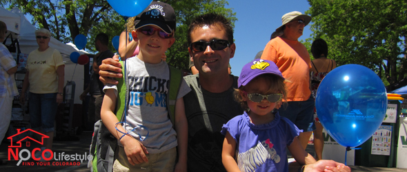 Richard Jensen with Kids