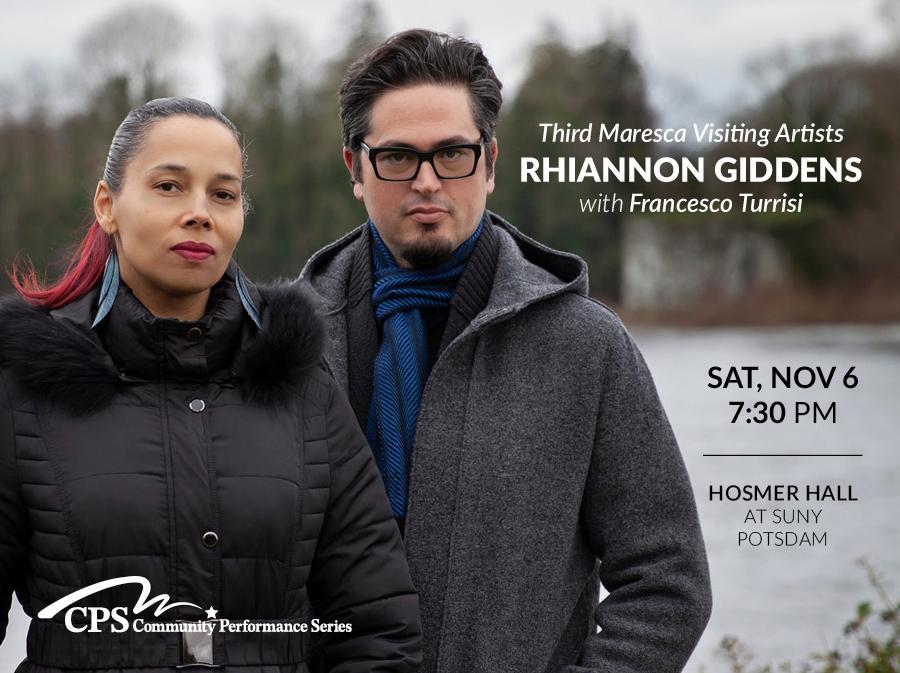 Rhiannon Giddens November 6 in Hosmer Hall