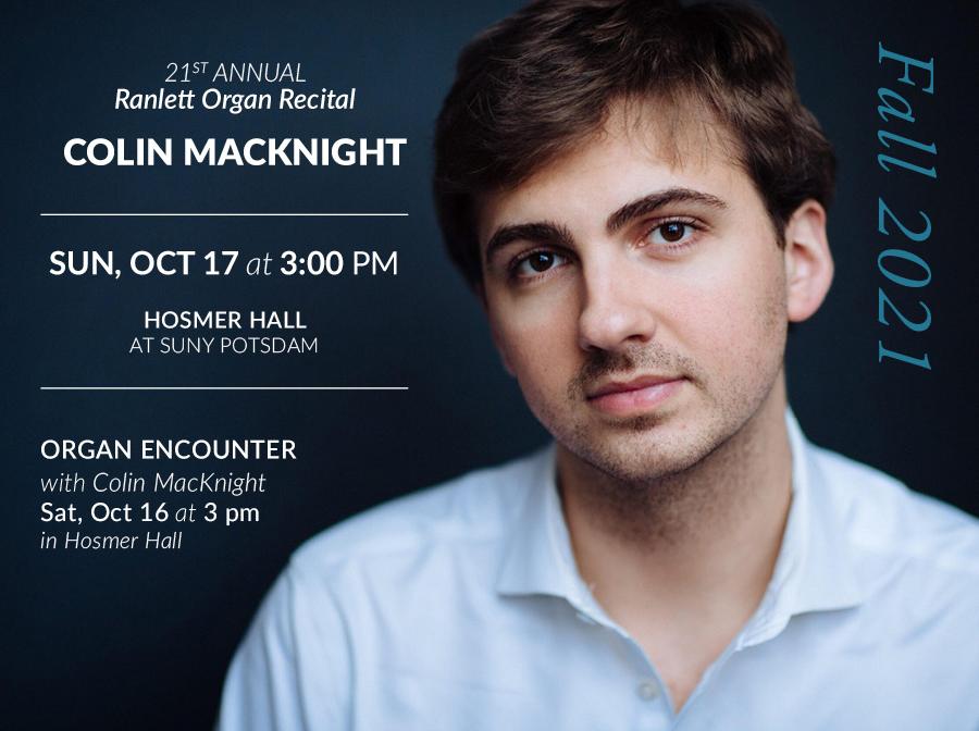 Colin MacKnight Oct 17 in Hosmer Hall