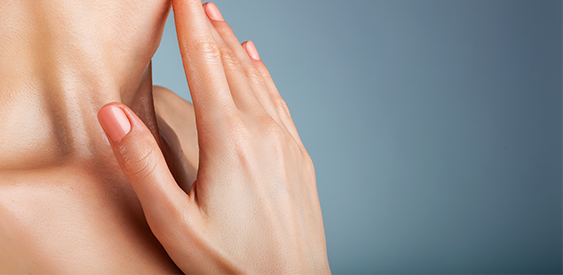 A patient receiving her hand wrinkle treatment in Huntington Valley, PA