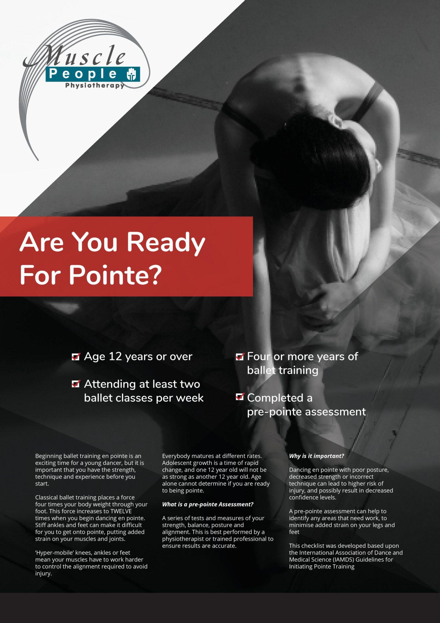 En Pointe Poster
