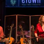 Dayna Kurtz Performing On eTown with Eric Bibb
