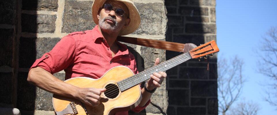 Guy Davis Starts European Tour On Sept. 9  -  No. 3 On The Living Blues Charts