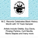 M.C. Records Celebrates Black History Month With A Curated Spotify Playlist