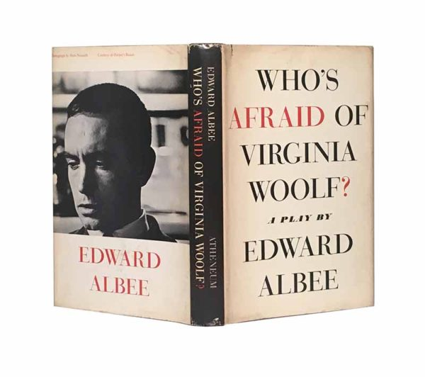 dust jacket for Who's Afraid of Virginia Woolf