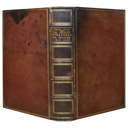 Récits d'Afrique, La Légion Étrangère en Espagne 1835-1839   Paul Azan