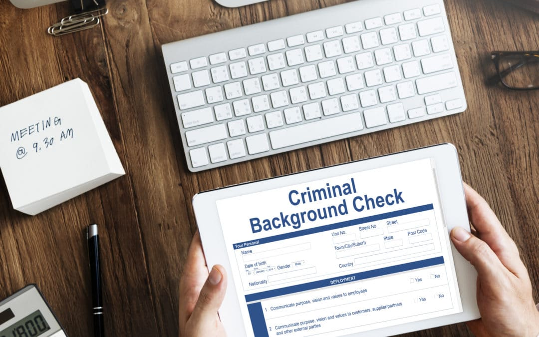 Criminal Background Checks, We Do Those Too!
