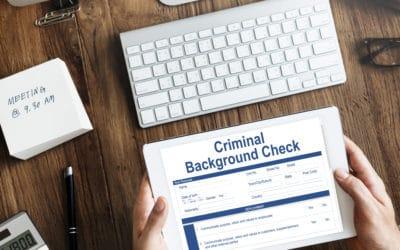 Criminal Background Checks, We Do Those Too!