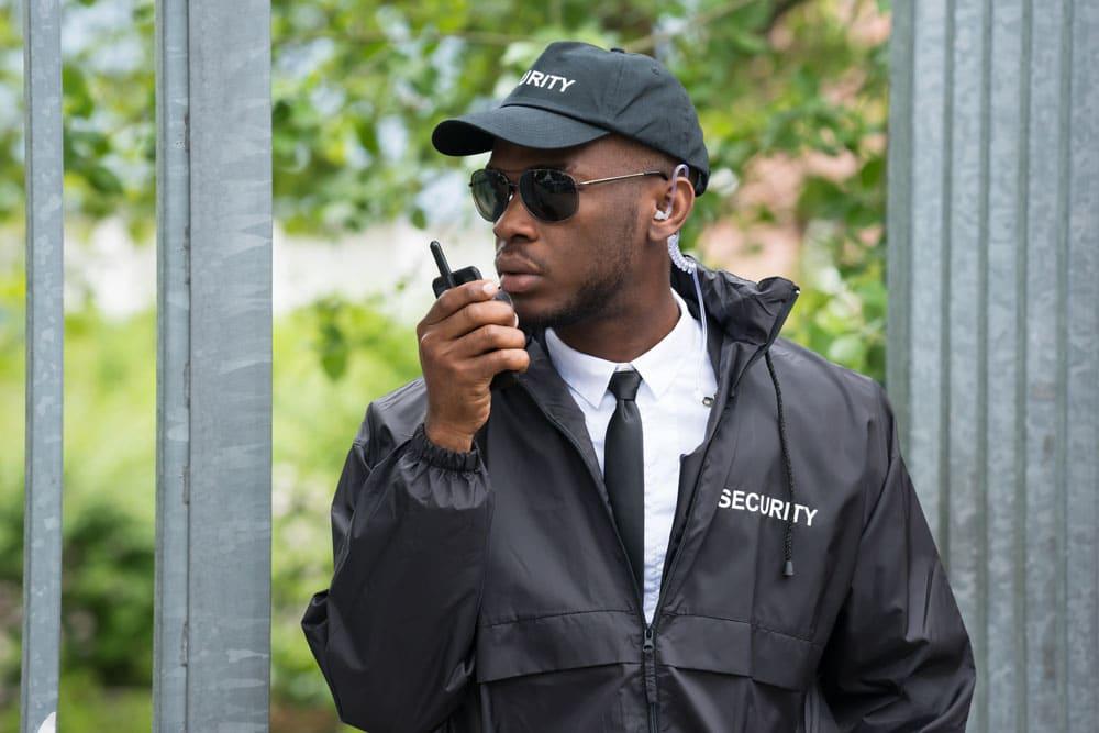 professional security guard service