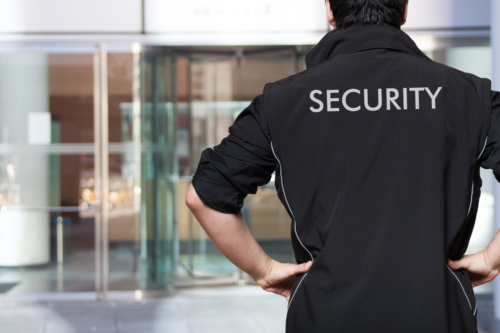 Security guard in maryland