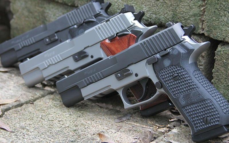 SIG SAuer P220 10mm Trio Shot