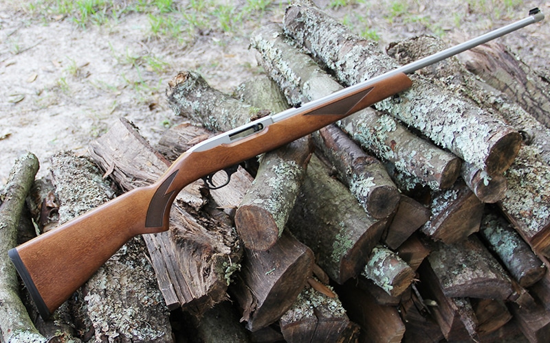 Ruger 10/22 Birch Wood and Stainless