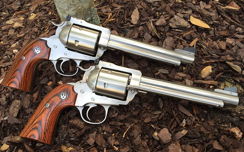 Ruger 454 And Ruger 480 Big Bore Revolvers