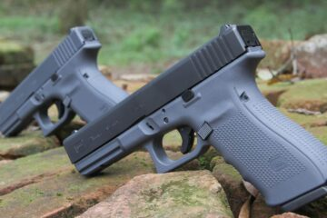 Full And Two-Tone Grey GLOCKs Left