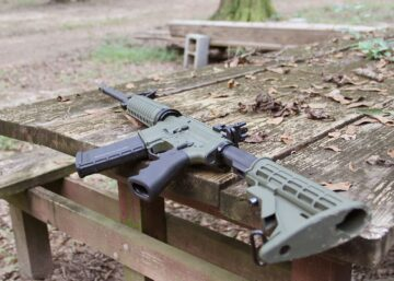Ruger AR556 Green Featured