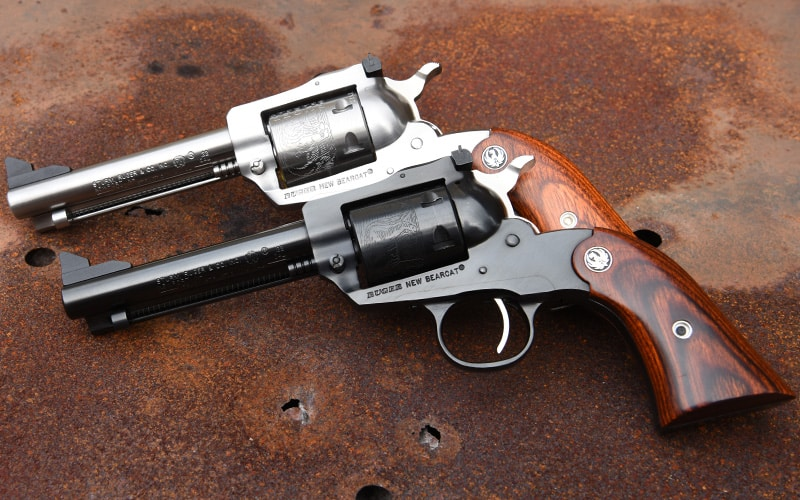Stainless and Blue Ruger Bearcats