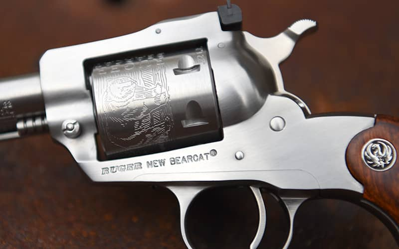 Ruger Bearcat Stainless Closeup