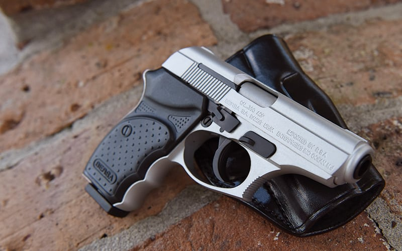 Bersa Thunder Nickel With Holster