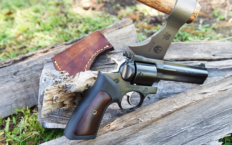 Ruger GP100 With Ruger Axe