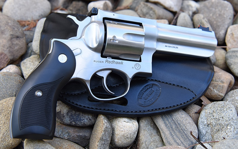 Ruger Redhawk 44 Magnum Rock Photo