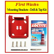 First Wash ® Mounting Brackets Drill & Tap Kit