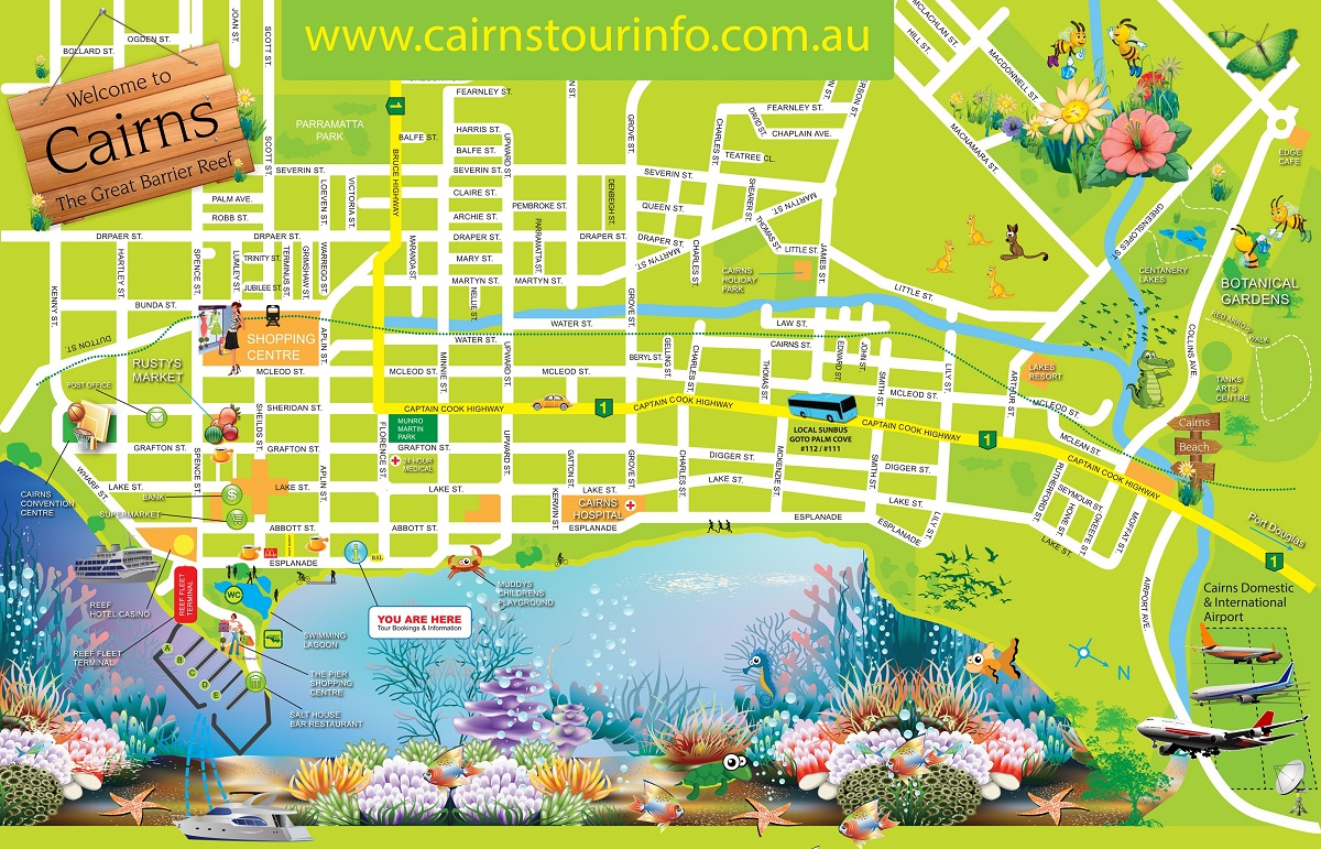 Cairn City Map