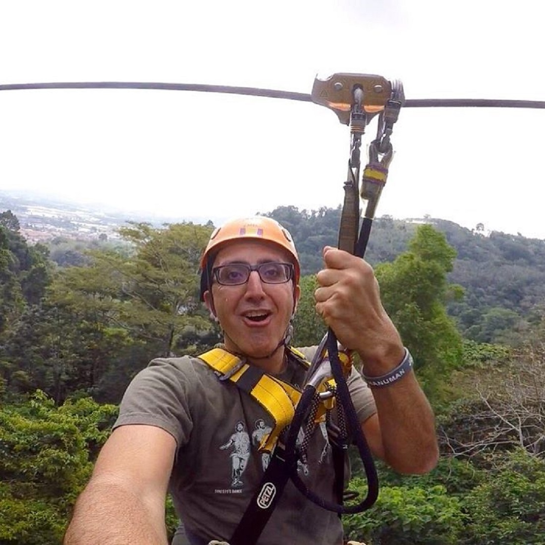 Ziplines course was intense and never felt repetitive