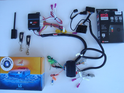 long range 1-button remote start for ford