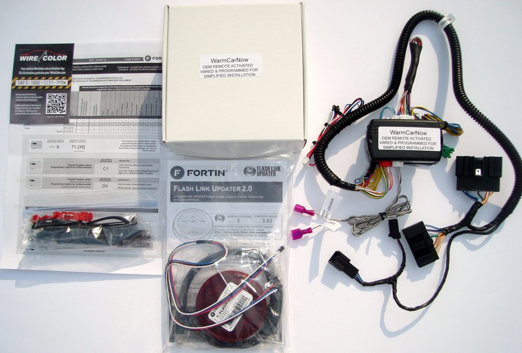 oem remote activated plug and play remote start for ford