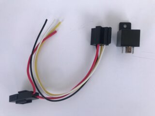 Parking light relay and socket