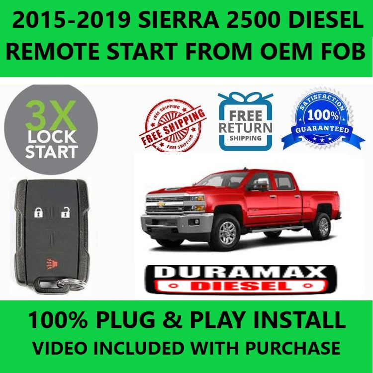 plug&play remote start for sierra