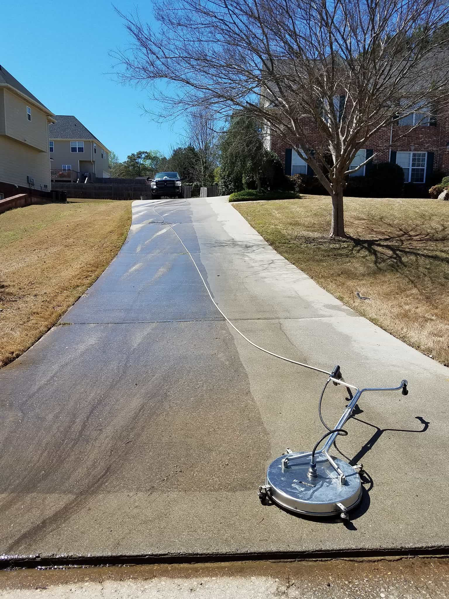 Why Pressure Wash Your Driveway?