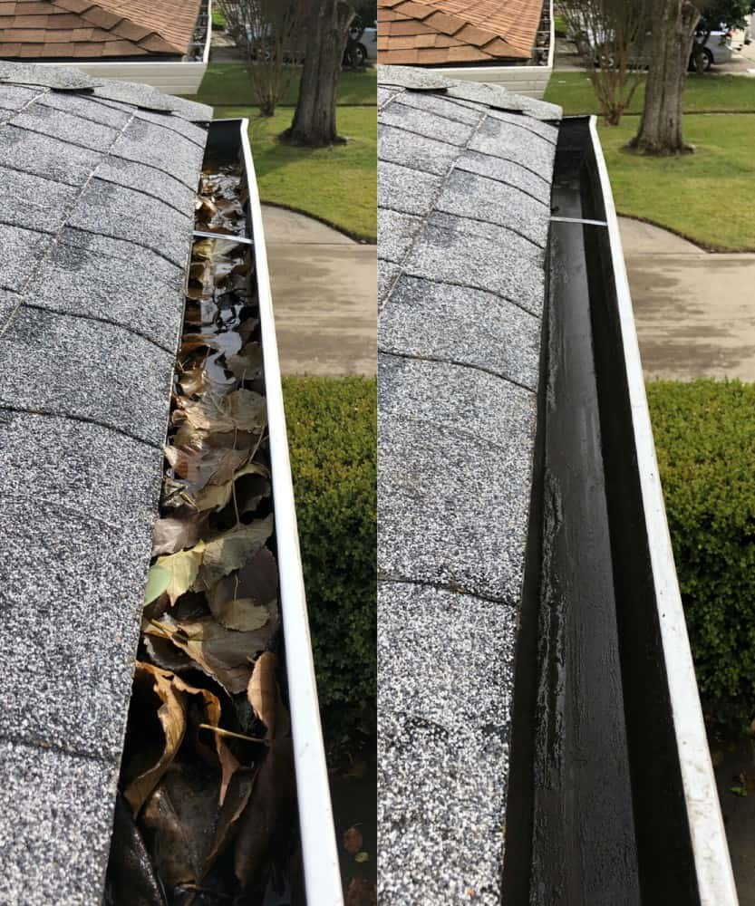 gutter cleaning professional service
