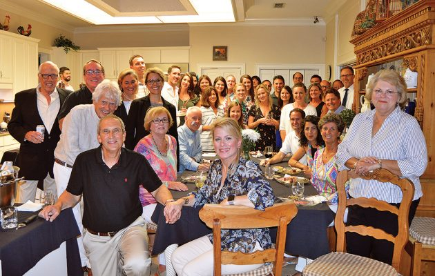San Marco Merchants Association and San Marco Preservation society joint event at Parra Harris Home
